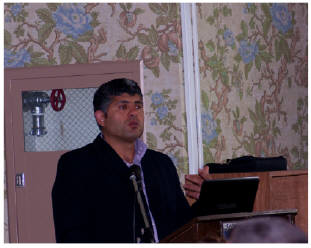 Daoud Nassar at  First Presbyterian Church, 8 Nov 2012
