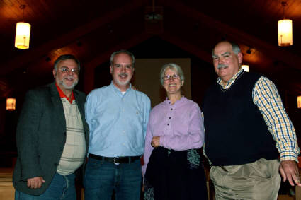 Michael Spath, Todd Steele, Peggy Gish (CPT), Terry Doughtery Beacon Heights, 17 November 2011