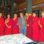 Tibetan Monks at Allen County Library