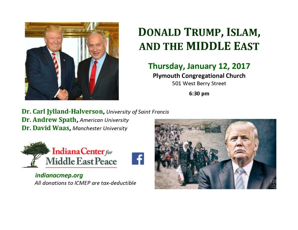 Donald Trump, Islam and the Middle East