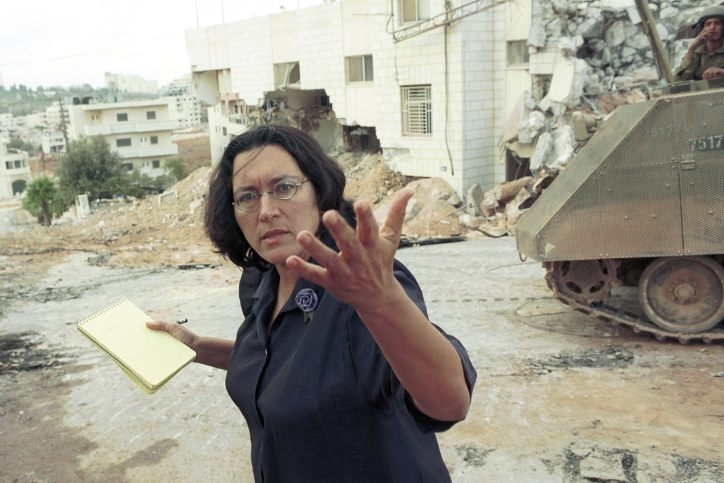 Amira Hass Israeli journalist and author